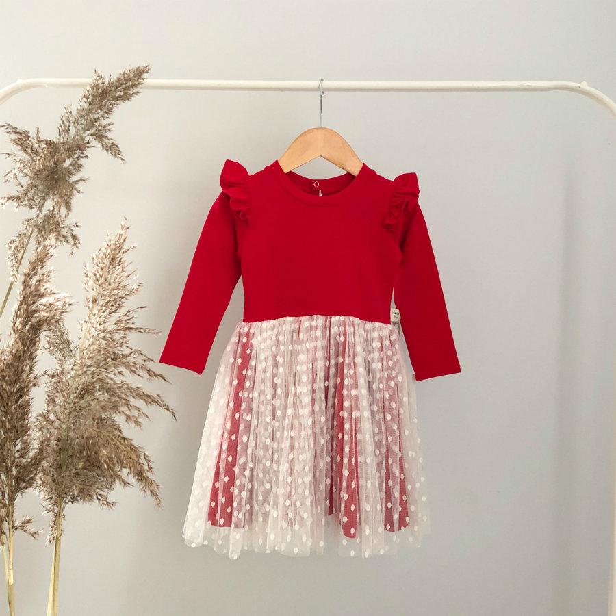 """Raudona suknelė ,,Wings"""""""
