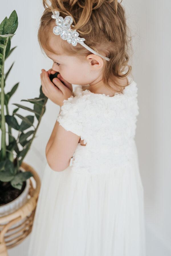 """Pieno spalvos suknelė ,,Rožė"""""""