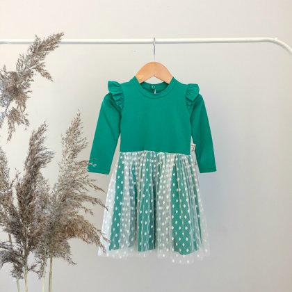"""Žalia suknelė  ,,Wings"""""""