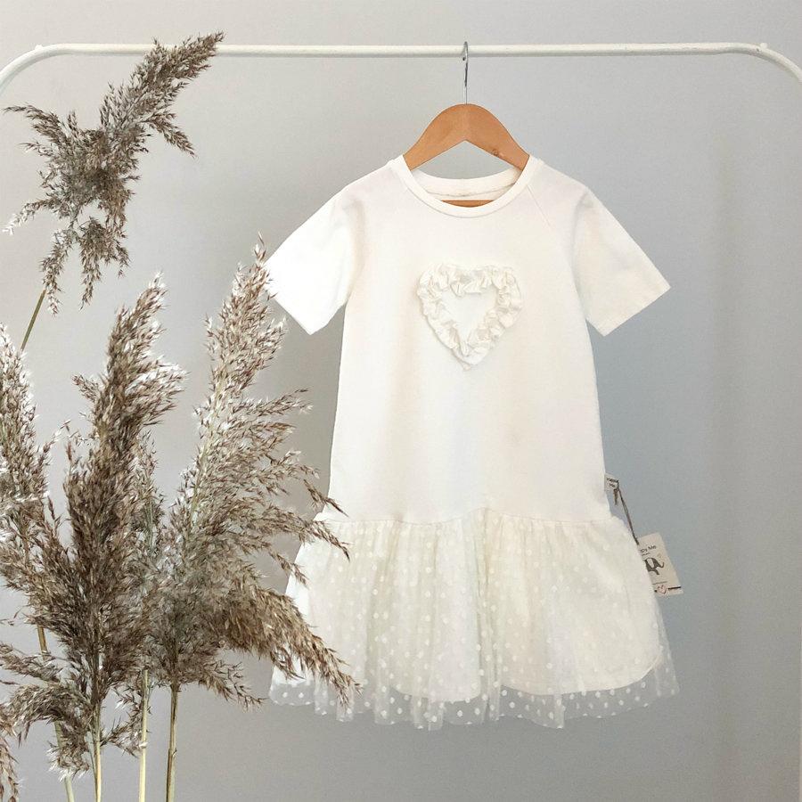 """Pieno spalvos suknelė ,,Širdelė"""""""