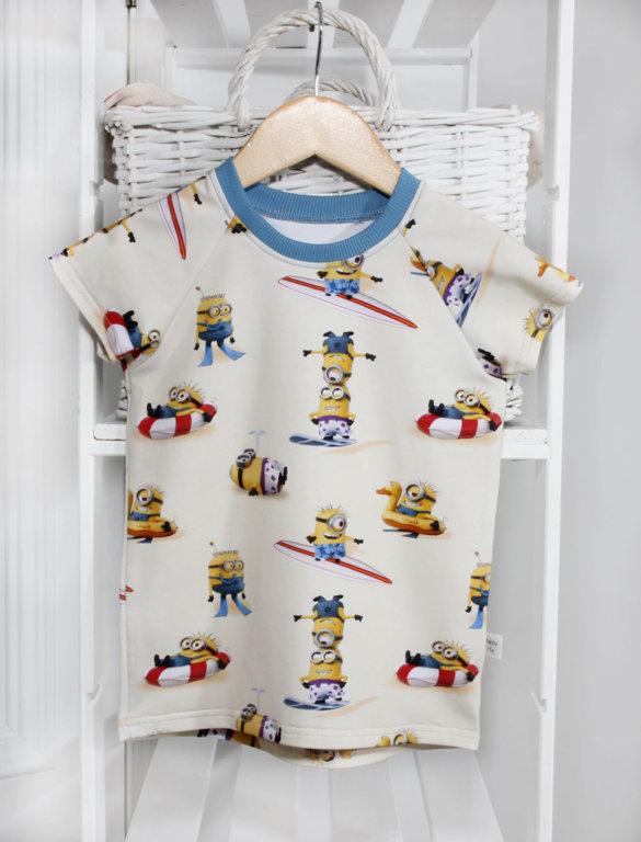 """Marškinėliai trumpomis rankovėmis """"Minions"""""""
