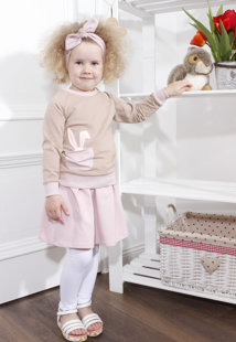 "Džemperis ,,Pink Bunny"""