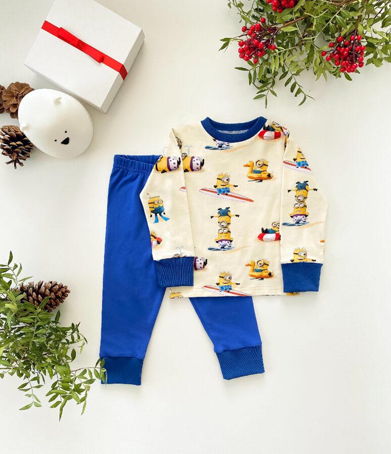 pižama berniukams minions